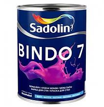 Краска для стен  и потолка Sadolin BINDO 7 ( Садолин Биндо 7) 1л