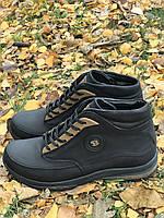 Зимние ботинки кожа 41,45 размеры, фото 1