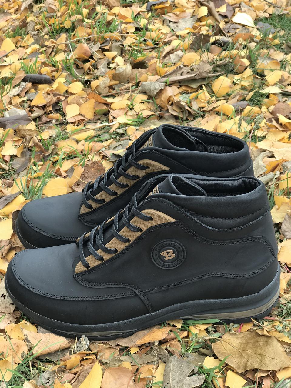 Зимние ботинки кожа 41,45 размеры