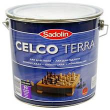 Уретано-алкидный лак для паркета  Sadolin CELCO TERRA (Селко Тера) 3л 90