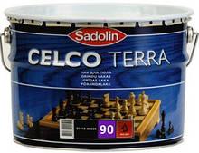 Лак для паркета  Sadolin CELCO TERRA (Селко Тера) 10л 45 полуглянец