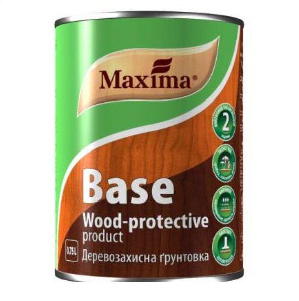 Грунтовка для дерева Maxima BASE (Максима База) Бесцветная 0.75л