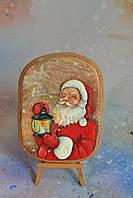 Пряник имбирно-медовый новогодний - Дед Мороз, фото 1
