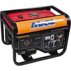 Электрогенератор бензиновый макс. мощн. 2.8 кВт, номин. 2.5 кВт, 0.49 л/ч MIOL 83-200