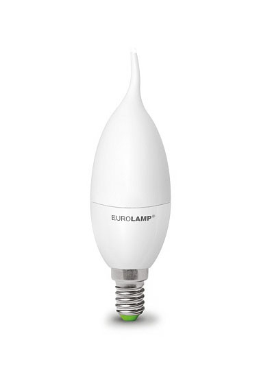 """LED Лампа свеча на ветру Eurolamp ЕКО серия """"D"""" 6W E14 3000K"""