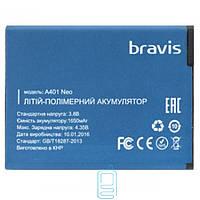 Аккумулятор Bravis A401 Neo 1650 mAh AAAA/Original