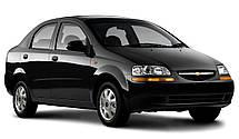 Лобовое стекло Chevrolet Aveo (T200) 2002-2006