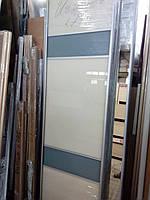 Двери на шкаф-купе «Крашеное стекло»