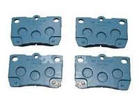 Оригинал задние тормозные колодки LEXUS GS 06-