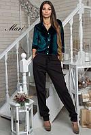 Комбинезон женский модный бархат и трикотаж джерси 3 расцветки 2Dmil726