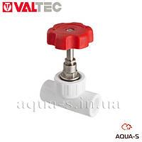 Вентиль полипропиленовый Valtec PPR DN 32 мм. (запорно-регулирующий) VTp.712