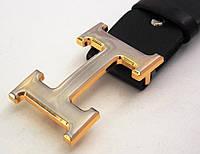 Кожаный ремень унисекс Hermes