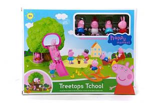 Игровой набор Свинка Пеппа Парк развлечений Дерево