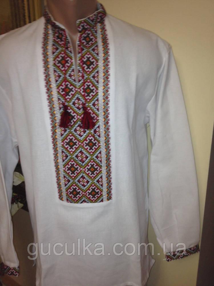 Українська вишиванка ручної роботи вишита хрестиком 212f754c5e88e
