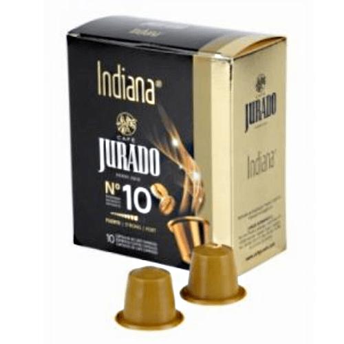 Кофе в капсулах Jurado NESPRESSO Indiana №10 10 шт