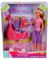 Игрушка Кукла для девочки Steffi Evi Love, Кукла Штеффи-няня с двумя малышами, от 3 лет