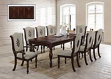 Большой обеденный стол  в классическом стиле Оксфорд Sof, цвет вишня, фото 3