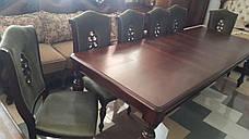 Большой обеденный стол  в классическом стиле Оксфорд Sof, цвет вишня, фото 2