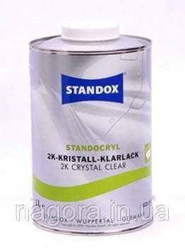 HS Лак прозрачный STANDOX K9030 Kristall-Klarlack 3л. + отвердитель HS 1л.