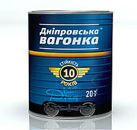 Эмаль Inrafarb Днепровская Вагонка Пф-133 Universal-M 0,85 л Тёмно - серый лак