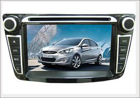 DVD-мультимедийная система PHANTOM DVM-1010G x5 (Accent 2011г.в. и позже)