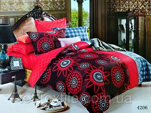 """Комплект постельного белья Elway """"Евро"""" 4206, фото 2"""