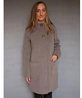 Женское кашемировое пальто №51, фото 1