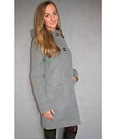 Женское кашемировое пальто №51/1 (Батал), фото 1