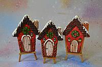 Пряник имбирно-медовый новогодний - Новогодний домик