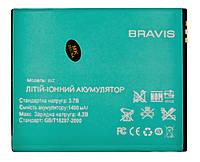 Аккумулятор к телефону Bravis Biz 1400mAh