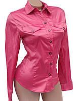 Женские рубашки с длинными рукавами (36-38)