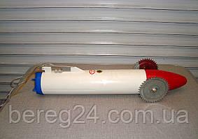 Торпеда (луноход) для протяжки сетей под лед на батарейках, пластиковая