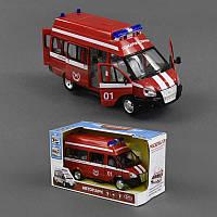 Газель 9707-А пожарная машина, инерционная