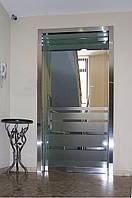 Цельностеклянные двери (из закаленного стекла и триплекса)