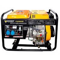 Однофазный дизельный генератор Forte FGD9000E (6,5 кВт)