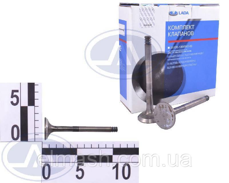 Комплект клапанов ВАЗ 2108 впуск/выпуск 8 шт. (пр-во АвтоВАЗ)