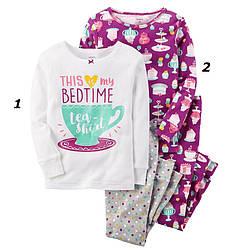 Комплект хб пижам Carters (Картерс) Сладости (2Т,3Т,4Т,5Т)