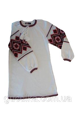 Сукня з українським орнаментом в язана для дівчинки   продажа 1c0bc2c2854b2