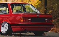 Спойлер на BMW e30