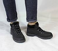 Мужские кожаные зимние ботинки (шерсть) UNCIA