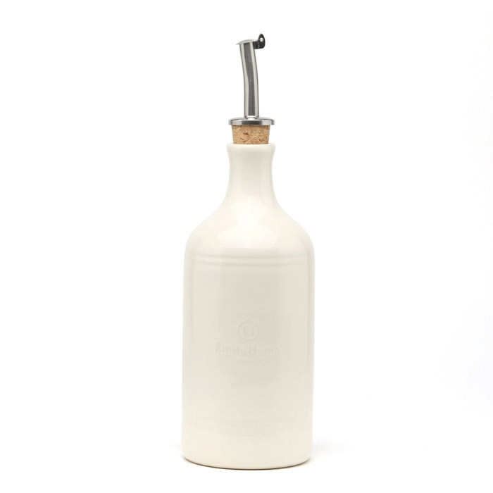 Бутылка для масла Emile Henry кремовая 400 мл 020215