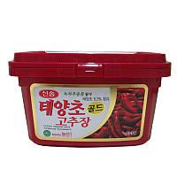 Острая корейская Перцовая паста Кочудян (Кочуджан) 500г (Корея)