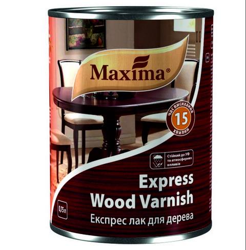 ЛАК ЭКСПРЕСС ДЛЯ ДЕРЕВА MAXIMA EXPRESS WOOD VARNISH (Матовый) 2,5л