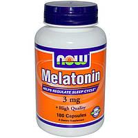 Now Foods - Melatonin 3 мг (180 капс) (мелатонин)