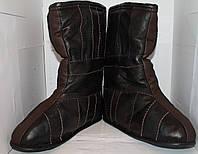 Валенки кожаные на меху оптом Украина, фото 1