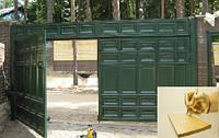 Золотые правила установки распашных ворот своими руками