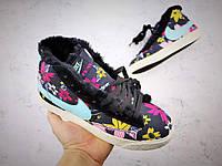 Кроссовки Nike Blazer зимние с мехом найк блейзер