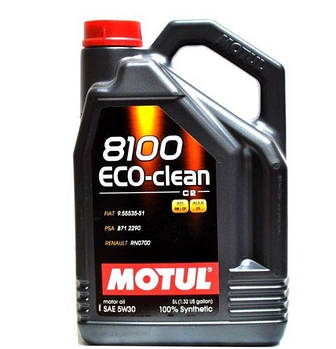 Моторное масло MOTUL 8100 Eco-clean 5W-30 5л