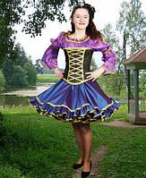 Ведьмочка-ночка, панночка . 152-176 см. Детские и взрослые  карнавальные костюмы на Хэллоуин