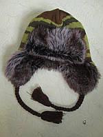 Шапка- ушанка зимняя для мальчика  на 14-15 лет Англия